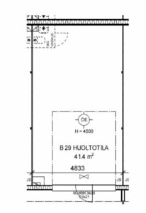 Sarankulman Talliosake 2, HUOLTOTILA 29